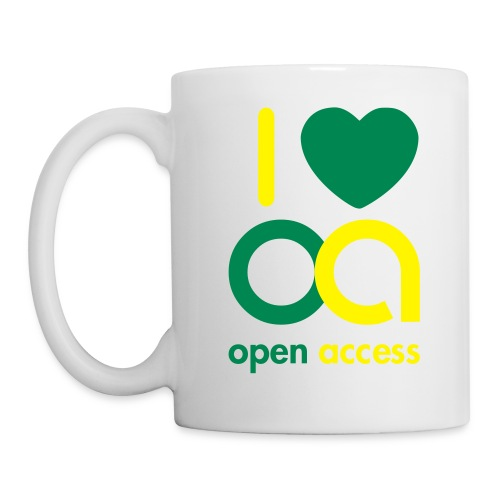 I love Open Access Tasse - Tasse