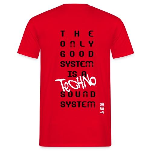 S64 SoundSystem tee - Men's T-Shirt