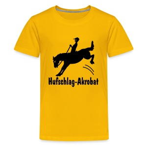 Hufschlag-Akrobat, Teenager-Shirt - Teenager Premium T-Shirt