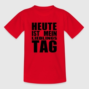 mein lieblings Tag - Teenager T-Shirt