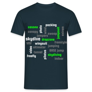 Word cloud - T-shirt Homme