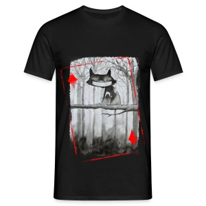 Carte Chat homme - T-shirt Homme
