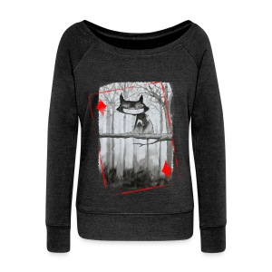 Sweat Carte Chat femme - Pull Femme col bateau de Bella