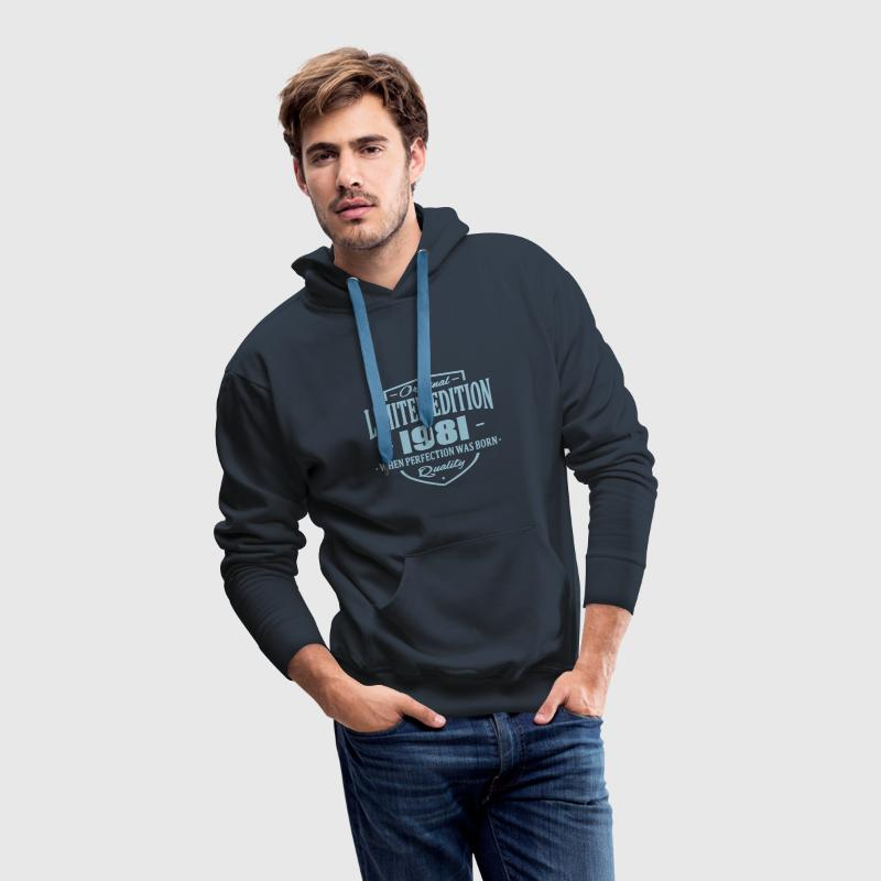 Limited Edition 1981 - Men's Premium Hoodie
