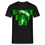 Tee shirts ~ Tee shirt Homme ~ Skydive every day