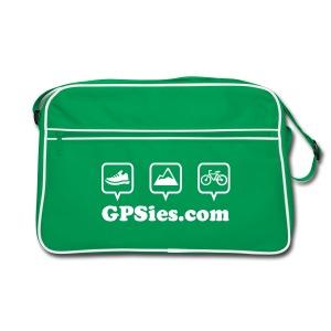 GPSies Retro Tasche grün - Retro Tasche