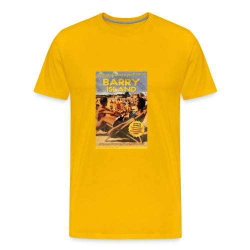 Taff Tourism: Barry Island  - Men's Premium T-Shirt