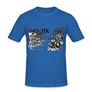 T-Shirts ~ Men's Slim Fit T-Shirt ~ BADcon 2015 20th year shirt - slim fit