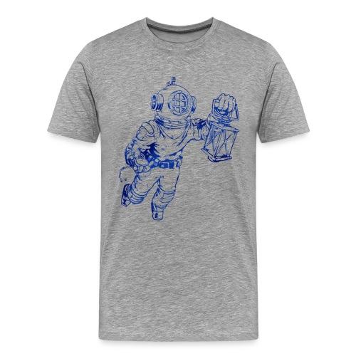Taucher Oneironaut - Männer Premium T-Shirt