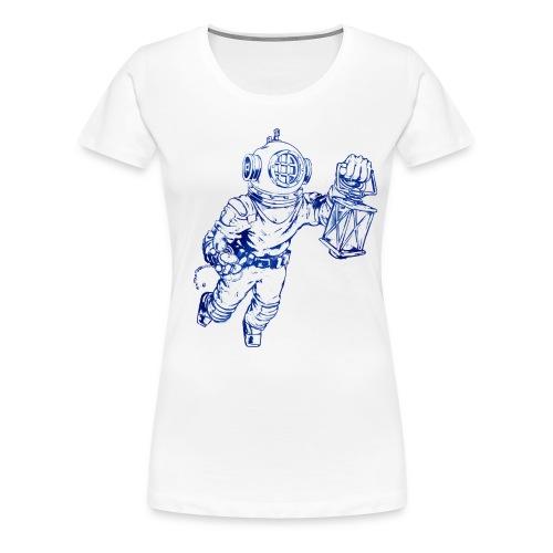 Taucher Oneironaut - Frauen Premium T-Shirt