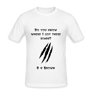 R v Brown - Men's Slim Fit T-Shirt