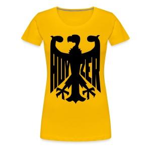 Svarta Gamen damtopp - Premium-T-shirt dam