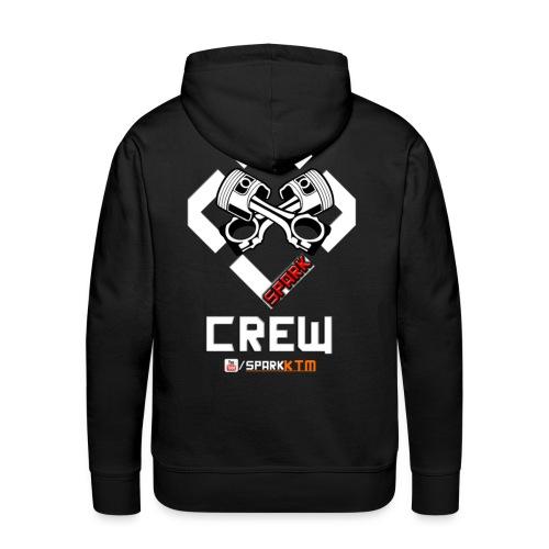 Crew Hoodie (männer) - Männer Premium Hoodie
