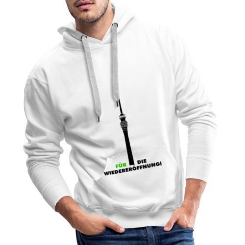 Fernsehturm DD - Männer Premium Hoodie