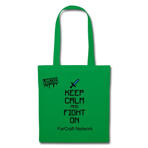 Sac EDITION LIMITEE Keep Calm and Fight On FarCraft Network - Tote Bag