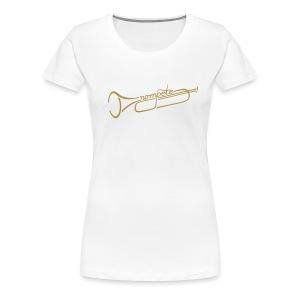 Trompete NEU! - Frauen Premium T-Shirt