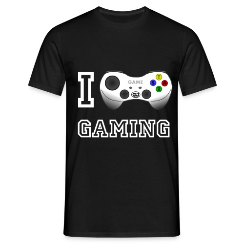 I love Gaming T-Shirt - Männer T-Shirt