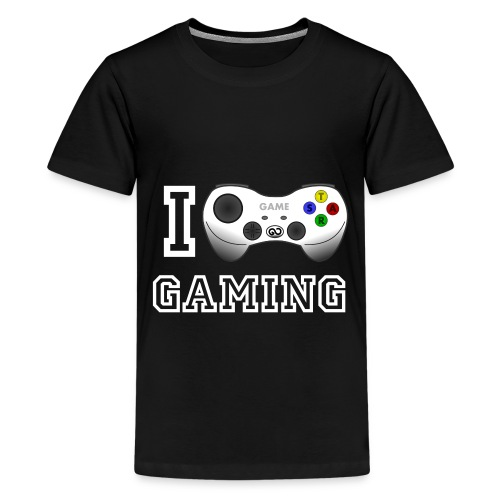 I love Gaming T-Shirt - Teenager Premium T-Shirt