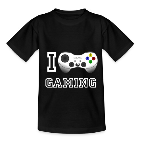 I love Gaming T-Shirt - Teenager T-Shirt
