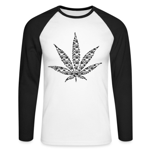 Weed - T-shirt baseball manches longues Homme