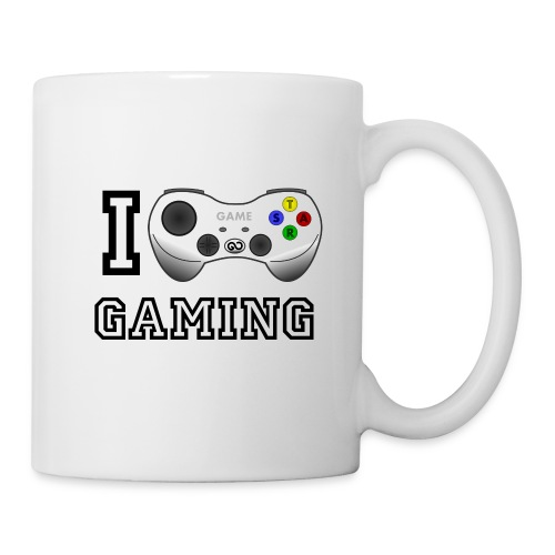 I love Gaming Tasse - Tasse