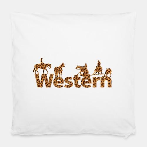 Western wild Leopard Kissen - Kissenbezug 40 x 40 cm