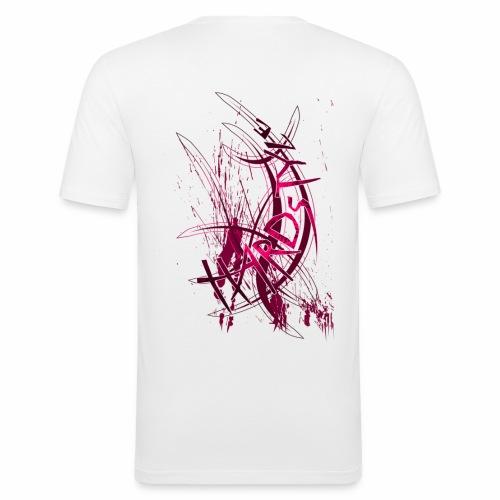 T-Shirt Cecel Hardstyle - T-shirt près du corps Homme