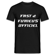 T-Shirts ~ Men's T-Shirt ~ fast and furieus officiel