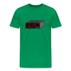 Radiowecker - Männer Premium T-Shirt