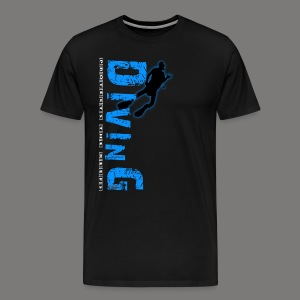 Diving - protects the reefs - Männer Premium T-Shirt