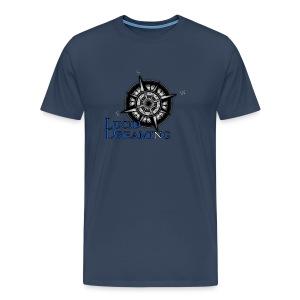 Kompass - Männer Premium T-Shirt