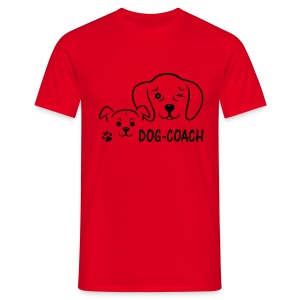 Shirt Dog- Coach - Männer T-Shirt