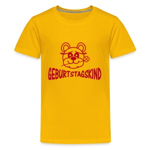 Shirt Geburtstagskind - Teenager Premium T-Shirt