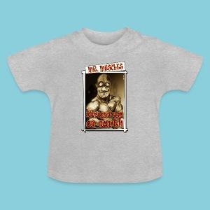 Baby T-shirt Muscle man - Baby T-Shirt