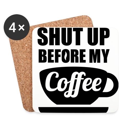Customised Coffee Coaster - Coasters (set of 4)