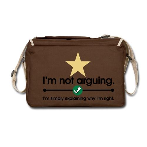 Explaining Why I am Right Shoulder Bag (Brown) - Shoulder Bag