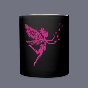 Tasse mit Elfenmotiv - Tasse einfarbig