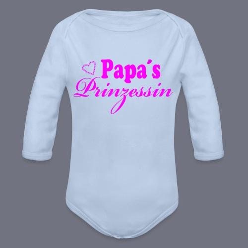 Baby Body langarm - Baby Bio-Langarm-Body
