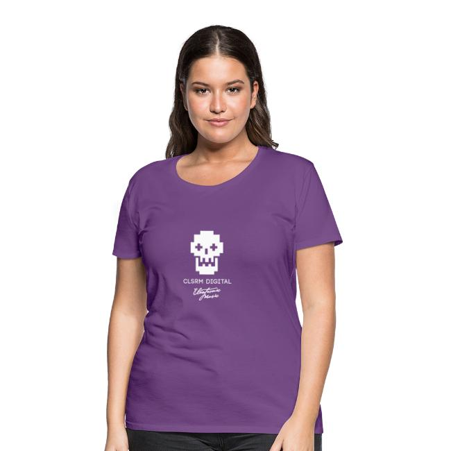 Frauen T-Shirt Skull-1