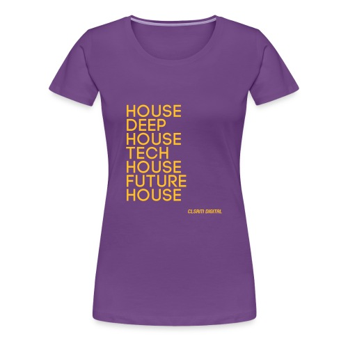 Frauen T-Shirt Styles 1 - Frauen Premium T-Shirt