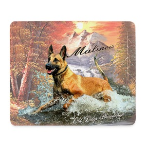 Mouspad-Malinois - Mousepad (Querformat)