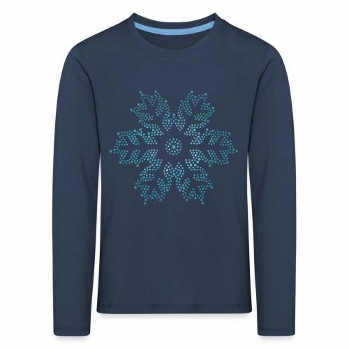 Schneestern, Weihnachten - Kinder Premium Langarmshirt