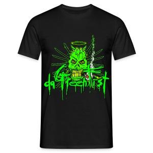 GF da GreenFist SKULL 2 T - Shirt  Colors for soldiers - Men's T-Shirt