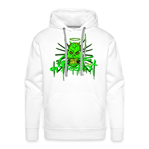 GF da GreenFist SKULL 2 Hoody COLOR for soldiers - Men's Premium Hoodie