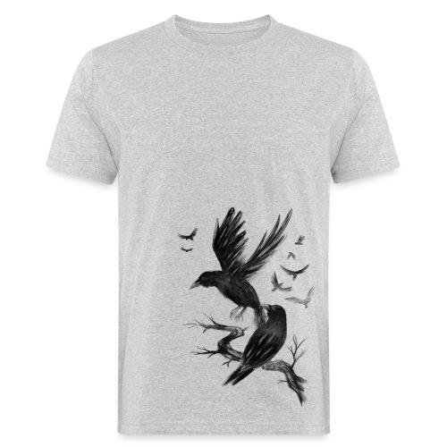 Fly Raven - Männer Bio-T-Shirt