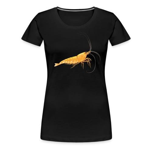 T-shirt crevette femme - T-shirt Premium Femme