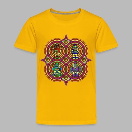 RETRO ROBOTS ------ (2yrs-8yrs) - Kids' Premium T-Shirt