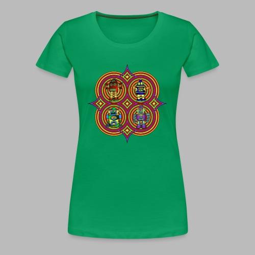 RETRO ROBOTS - Women's Premium T-Shirt