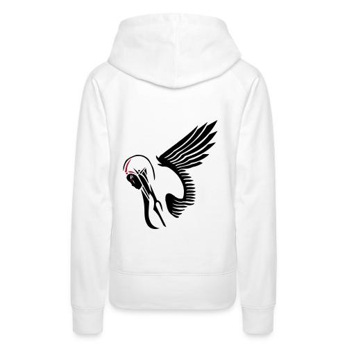 Mulle Vision Angel - Frauen Premium Hoodie