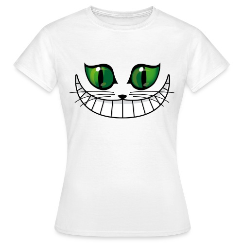 Mulle Vision Grinsekatze - Frauen T-Shirt